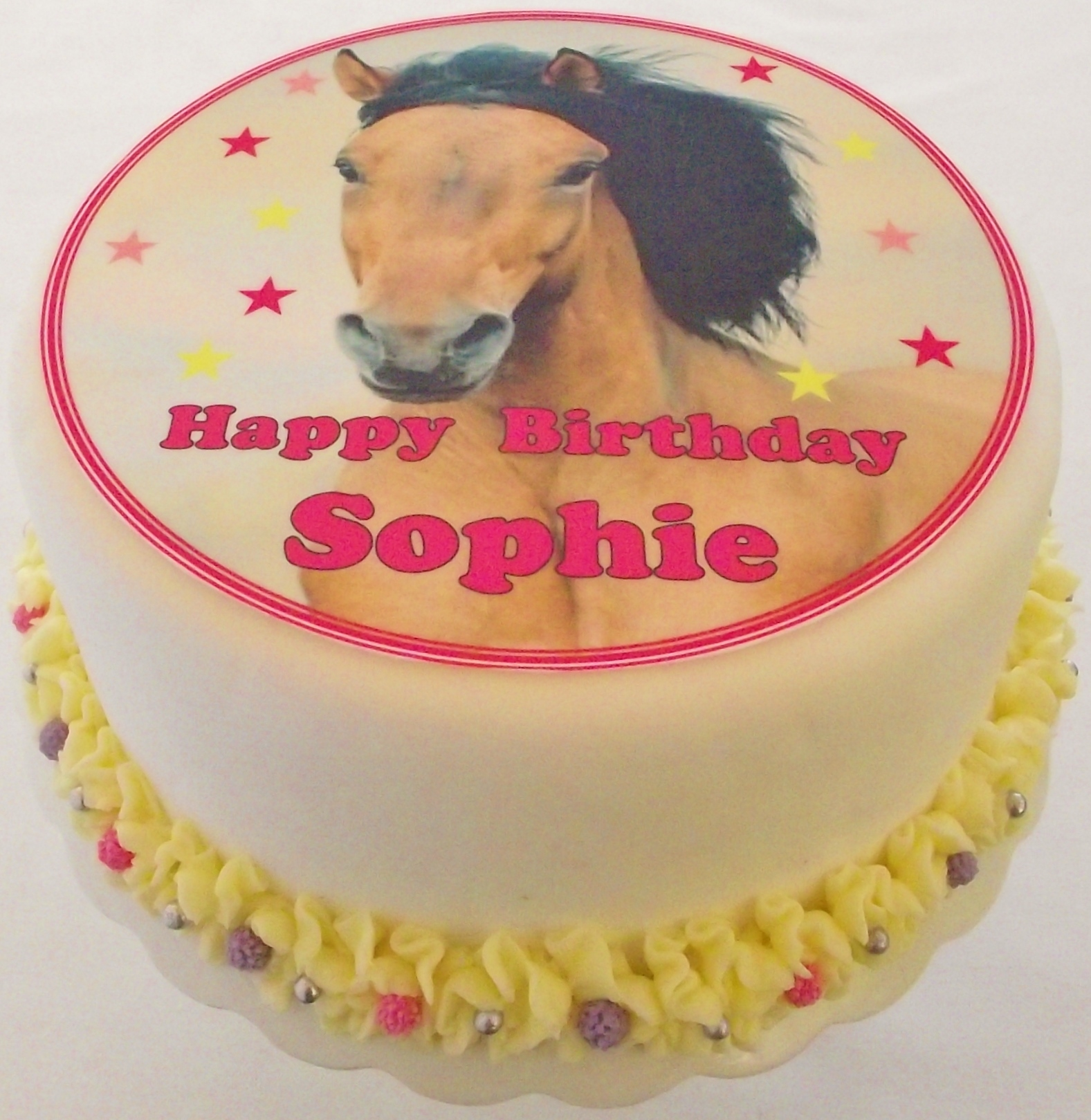 horse cake toppers birthday cakes