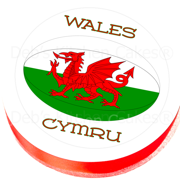 Cake Toppers :: Countries :: Wales :: Welsh Rugby Cake ...