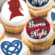 Burns night Cake Toppers