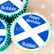 Scottish Cake Toppers